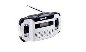Father's day gifts: Wind up radio for Father's day