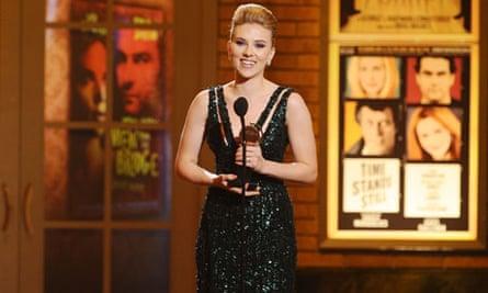 Scarlett Johansson at the Tony Awards