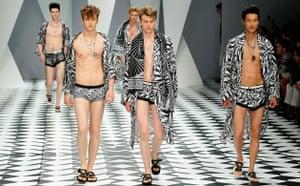 Milan menswear: Versace