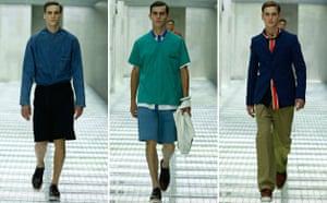 Milan menswear: Prada