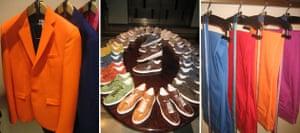 Milan menswear: Colour blocking