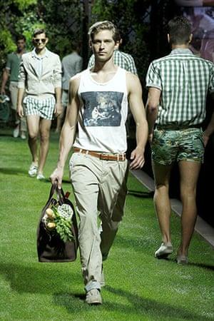 Milan menswear: D&G