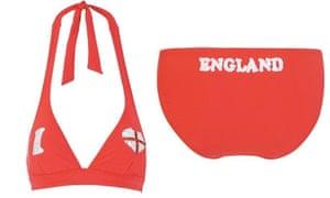 World Cup Tat: World Cup Tat: England Bikini