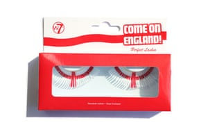 World Cup Tat: World Cup Tat: False eyelashes