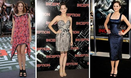 Marion Cotillard at the World Premiere of Inception