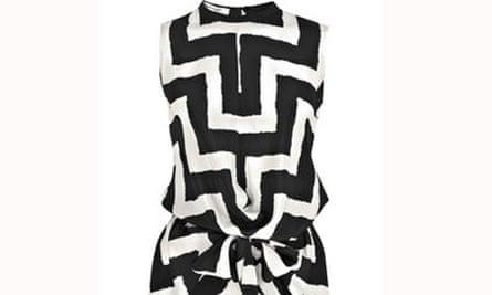 Carven graphic silk dress, £228, net-a-porter.