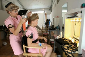 Vintage at Goodwood: Hair and makeup