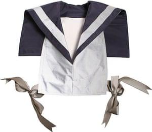 Women's cyclewear: Reflective sailor bib, £72