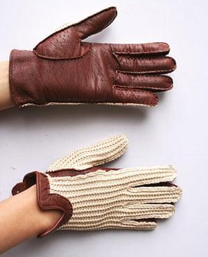 Women's cyclewear: Crochet gloves