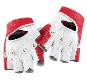 Women's cyclewear: Love/hate gloves
