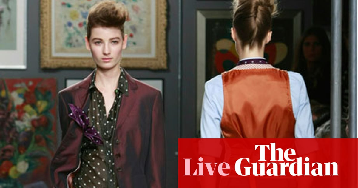 ea13524fb3f0 Fashion week live blog: 21 September   Kate Carter   Life and style ...