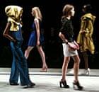 Jaeger's show at London fashion week
