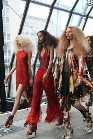 London fashion top ten: Observer's top ten London fashion week moments