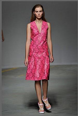 London fashion top ten: Observer top ten fashion moment