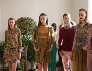 London fashion top ten: Observer's London top ten
