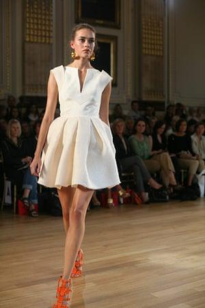 London fashion top ten: Observer london fashion week top ten