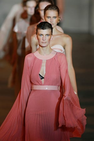 London fashion top ten: Observer fashion week top ten