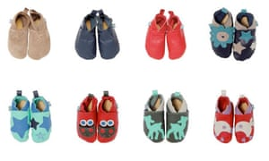 Handmade leather shoes by Green Baby