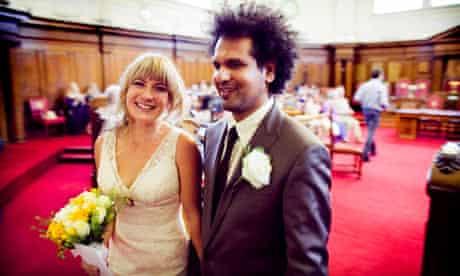 Sarfraz Mansoor's wedding at Islington Town Hall