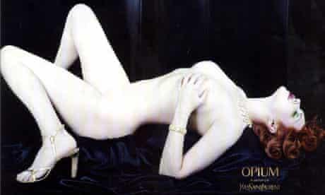 Yvest Saint Laurent Opium poster