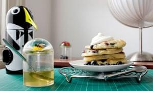 Blueberry breakfast pancakes