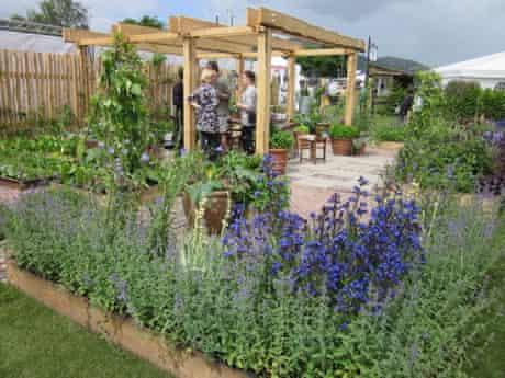 Hannah Genders' My Very Local Veg Garden at the Malvern Show 2011