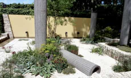 Cleve West's show garden at the Chelsea Flower Show 2011