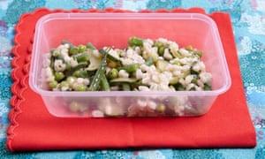 Barley and bits salad