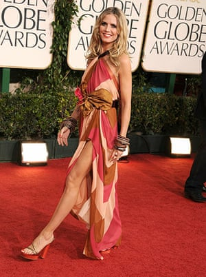 Golden globes fashion: Golden Globes fashion, Heidi Klum