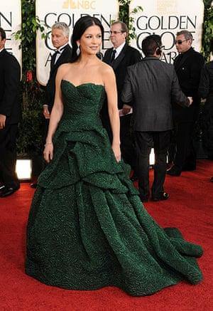 Golden globes fashion: Golden Globes fashion, Catherine Zeta Jones