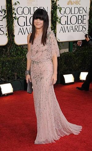 Golden globes fashion: Golden Globes fashion, Sandra Bullock