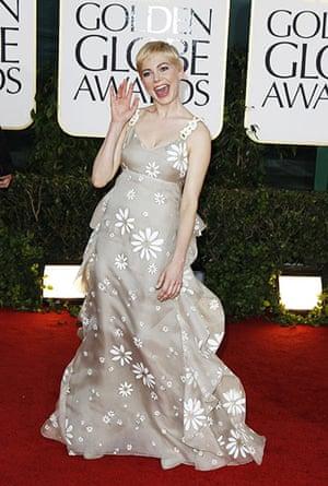 Golden globes fashion: Golden Globes fashion, Michelle Williams