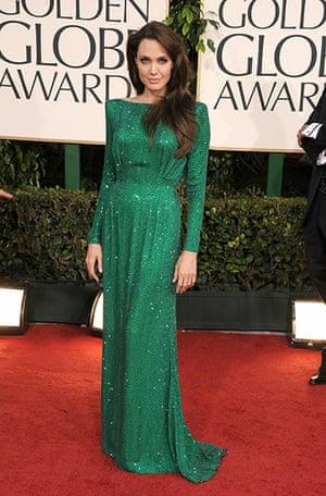 Golden globes fashion: Golden Globes fashion, Angelina Jolie