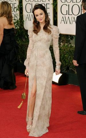 Golden globes fashion: Golden Globes fashion, Leighton Meester