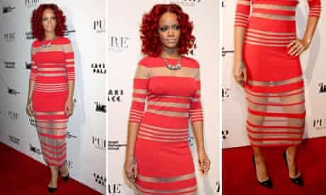 Rihanna on New Year's Eve