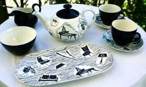 A collection of Ridgway's Homemaker china