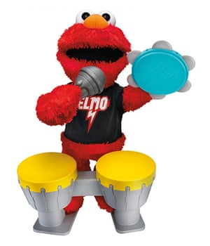 Top toys: Lets Rock Elmo by Hasbro