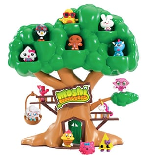 Top toys:  Moshling Treehouse by Vivid Imaginations