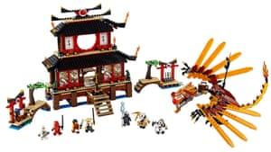 Top toys: Ninjago Fire Temple by LEGO Company Ltd