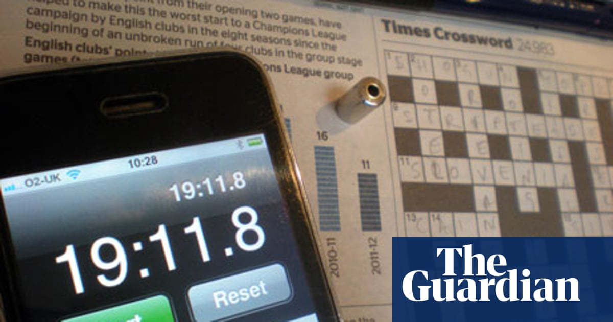Crossword Blog The Times Crossword Championship Crosswords The Guardian