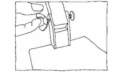Anglepoise lamp. Figure I