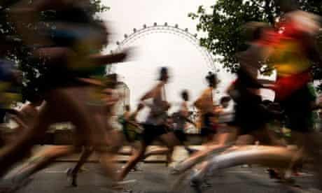 London marathon test event