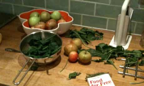 The results of Tom Cox's foraging trip