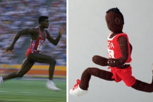 Knitted Olympians: Carl Lewis