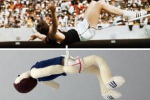 Knitted Olympians: Richard Fosbury