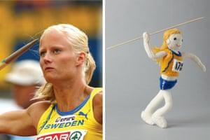 Knitted Olympians: Carolina Kluft