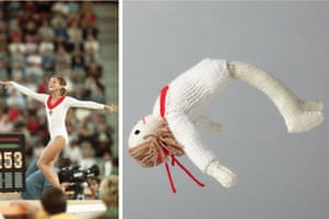 Knitted Olympians: Olga Korbut