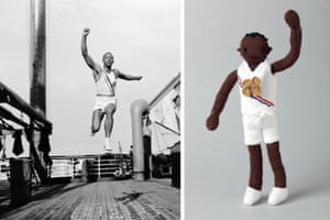 Knitted Olympians: Jesse Owens