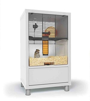 Xmas pets above 20: Qute hamster and gerbil cage with storage