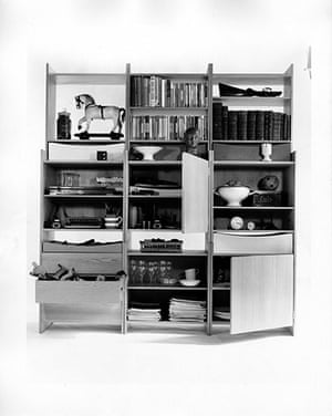 Terence Conran: Book shelving and storage unit